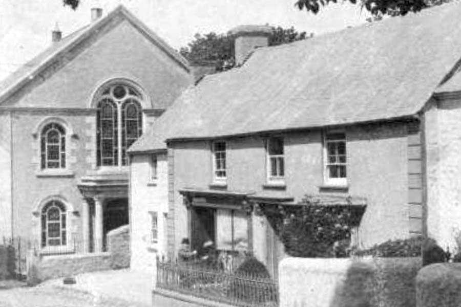 Old Methodist church St.Erth